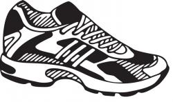 Gym-shoes clipart footwear