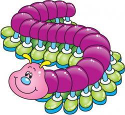 Centipede clipart cute