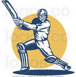 Shoot clipart cricket batting