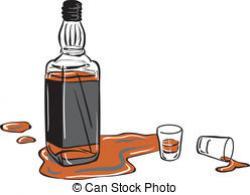 Liquor clipart whisky bottle