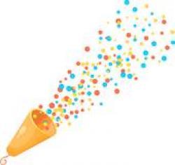 Shooter clipart confetti
