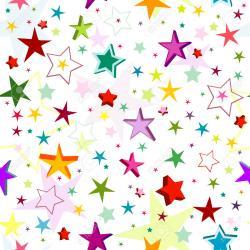 Photos clipart colourful star