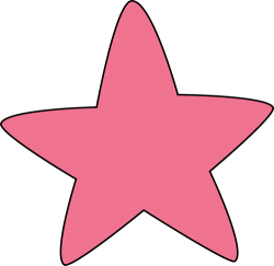 Colouful clipart colorful star