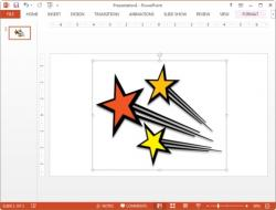 Shooting Star clipart powerpoint
