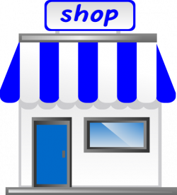 Business clipart shop front