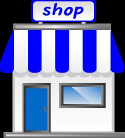 Business clipart shop front