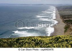 Shoreline clipart cliff