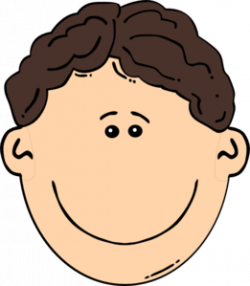 Men clipart brown hair