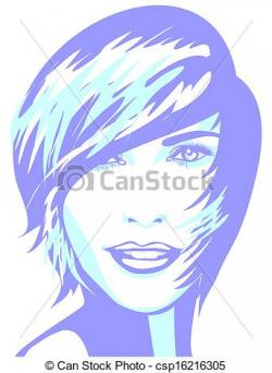 Short Hair clipart male face