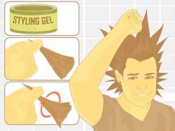 Mohawk clipart spiky hair