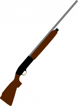 Gun Shot clipart pump shotgun