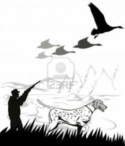 Shotgun clipart bird hunting