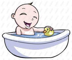 Bathtub clipart cartoon