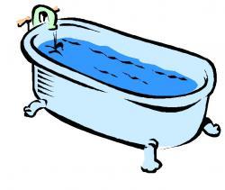 Bathtub clipart fancy
