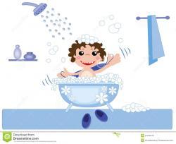 Bathtub clipart kid bath