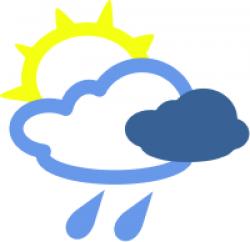 Thunderstorm clipart overcast
