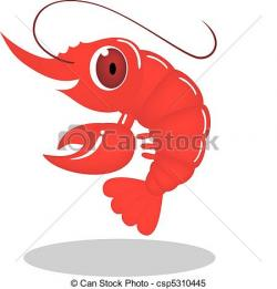 Crustacean clipart shrimp