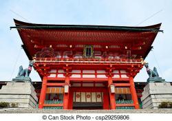 Shrine clipart fushimi