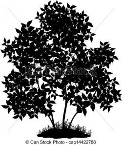 Lilac clipart black and white