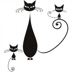 Siamese Cat clipart the wall