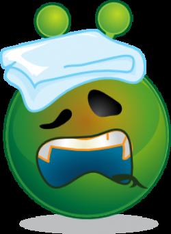 Sick clipart alien