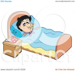 Resting clipart bed rest