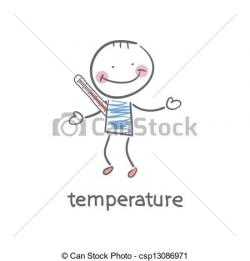 Sick clipart body temperature