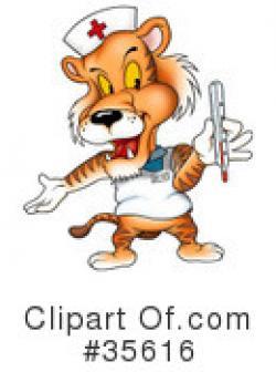 Sick clipart tiger