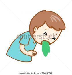 Sick clipart vomit