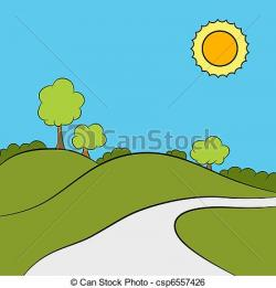 Outdoor clipart park background