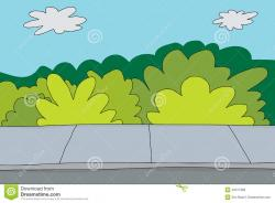Park clipart sidewalk