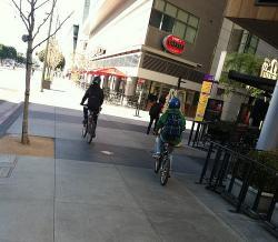 Sidewalk clipart bike trail
