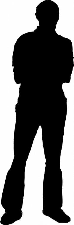 Shaow clipart silhouette