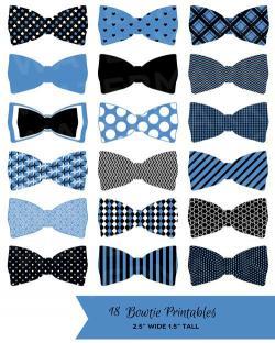 Dark Blue clipart bow tie