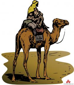 Silk clipart camel riding