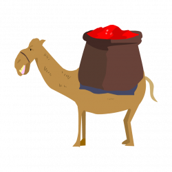 Camels clipart silk road