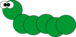 Caterpillar clipart animated