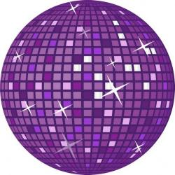 Neon clipart disco ball