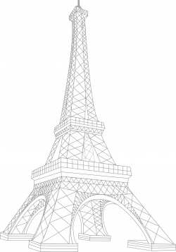 Structure clipart eiffel tower