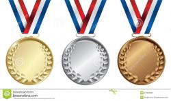 Olympic Games clipart bronze medal