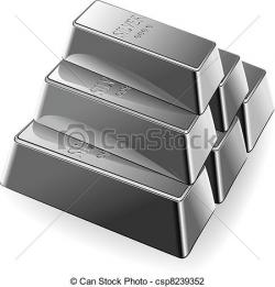 Silver clipart silver bar