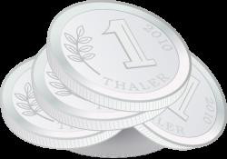 Silver clipart silver coin