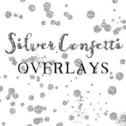 Silver clipart silver confetti
