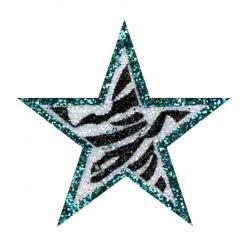 Silver clipart silver glitter star