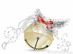 Silver clipart sleigh bells
