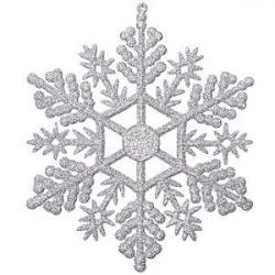 Silver clipart snow flake