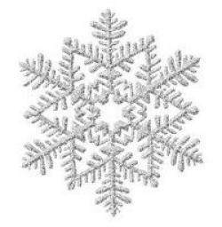 Avalanche clipart small snowflake