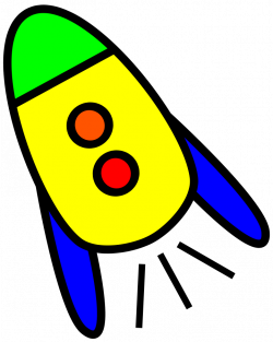 Rocket clipart simple