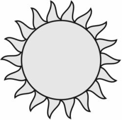 Whit clipart sunshine
