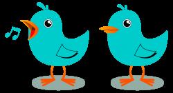 Songbird clipart birds chirping